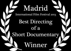 Best Directing of a Short Documentary Laurel
