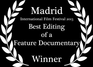 Best Editing of a Feature Documentary Laurel