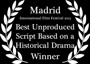 Best Unproduced Script Based on a Historical Drama Laurel
